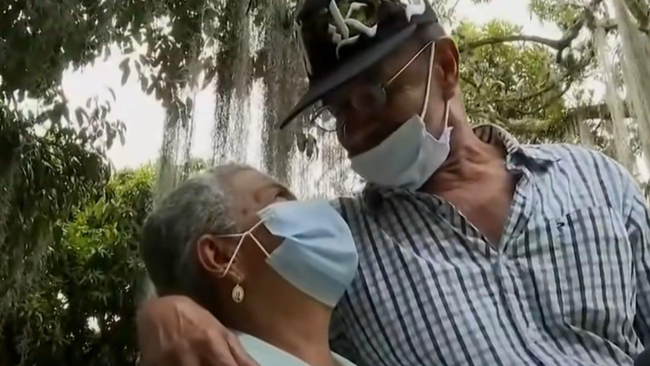 ancianos, Medellín, refugio, adultos mayores, captura de pantalla