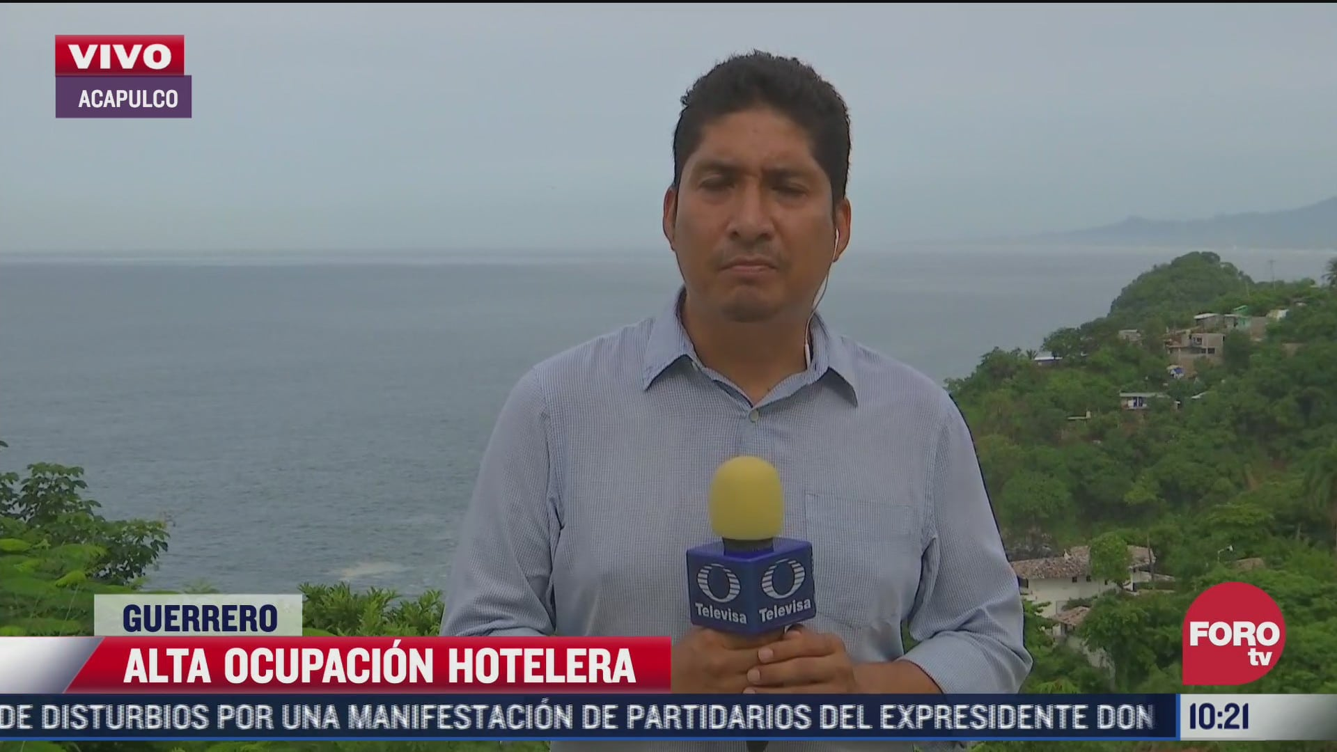 acapulco registra alta ocupacion hotelera