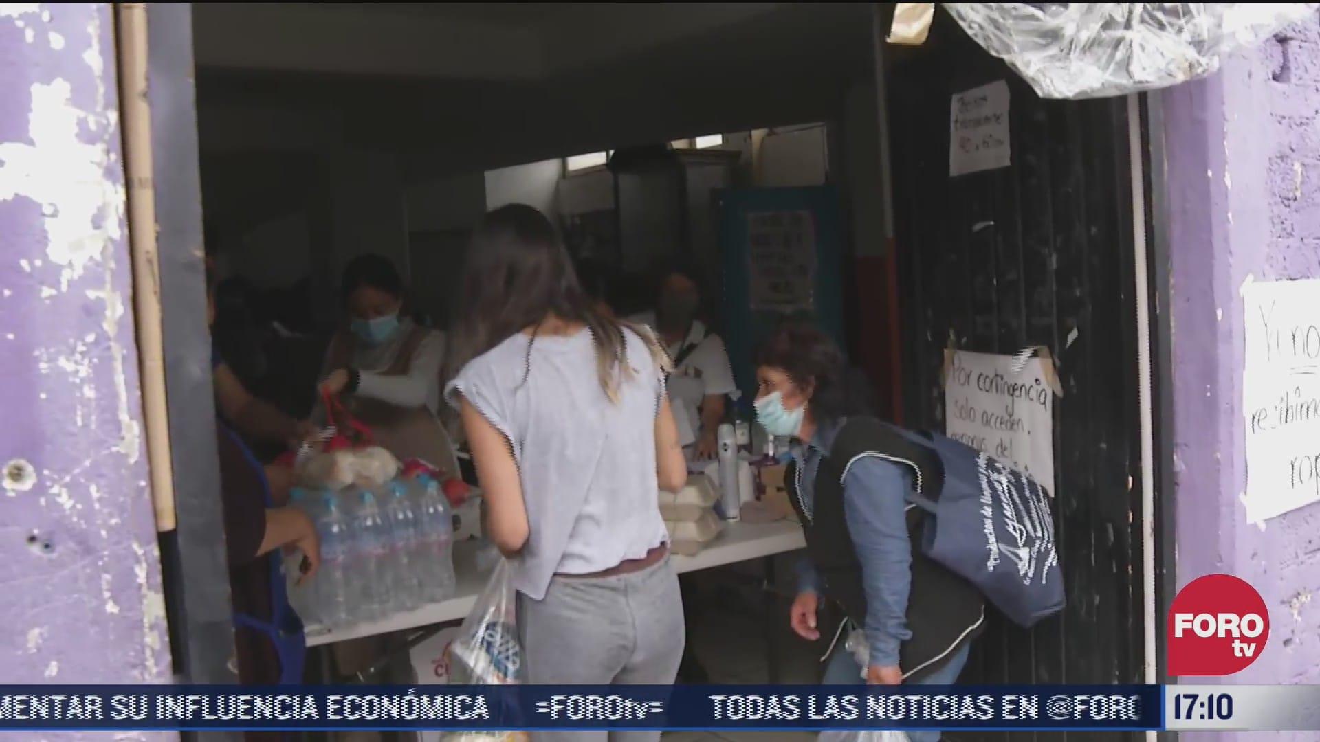 albergue solicita medicamentos para ninos damnificados del cerro del chiquihuite