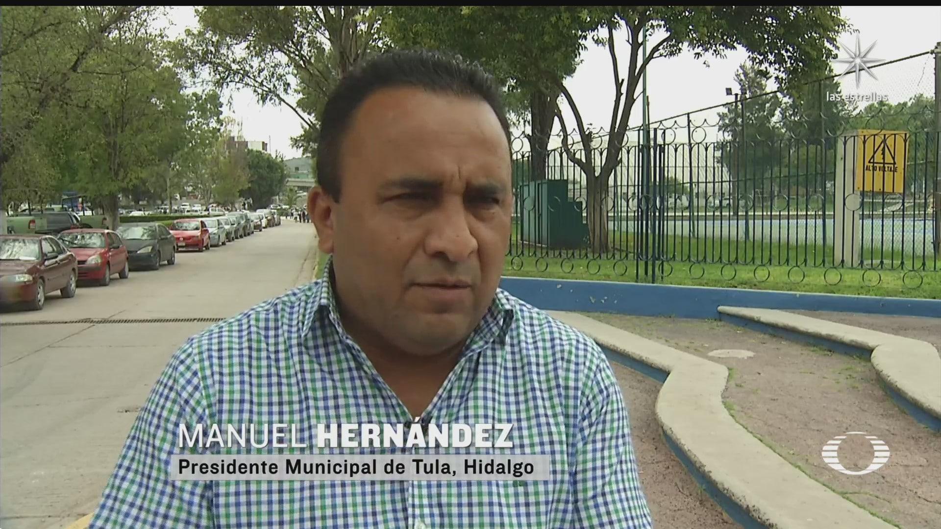 alcalde de tula desmiente que conagua le haya notificado sobre desbordamiento