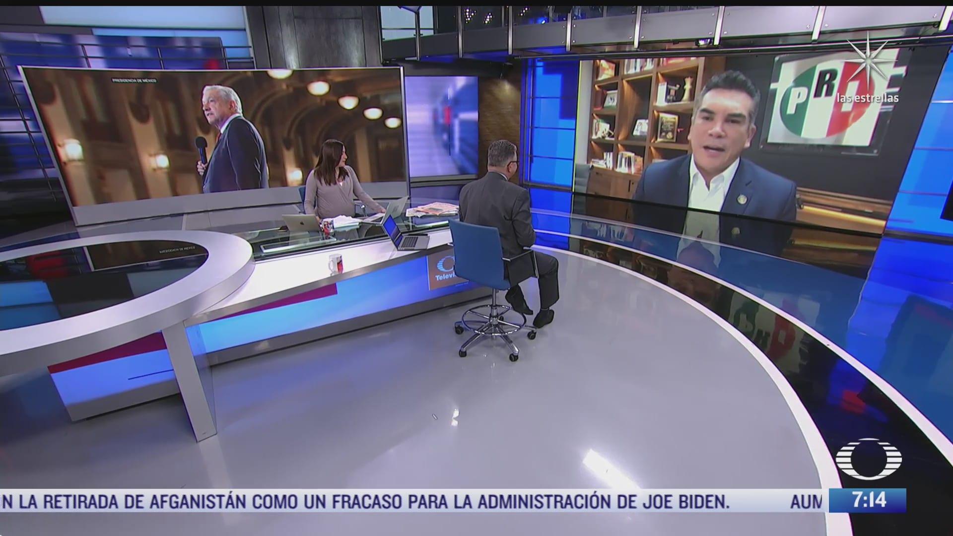 alejandro moreno en entrevista para despierta sobre tercer informe de gobierno de amlo