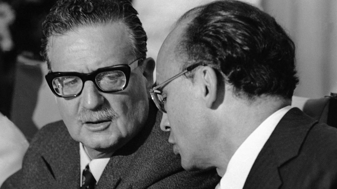 Salvador Allende, Chile, golpe de estado, Luis Echeverría