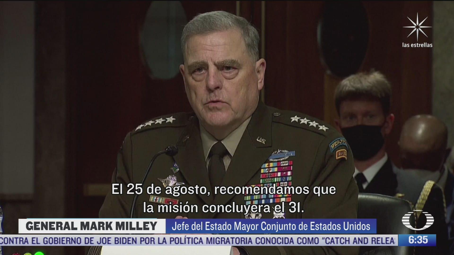 altos mandos militares en eeuu recomendaron a biden mantener las tropas en afganistan