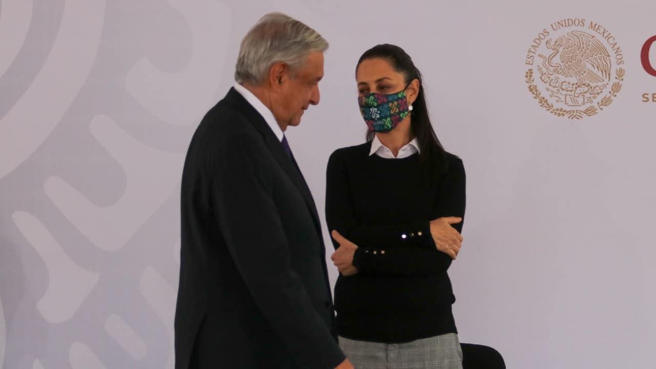Andrés Manuel López Obrador y Claudia Sheinbaum