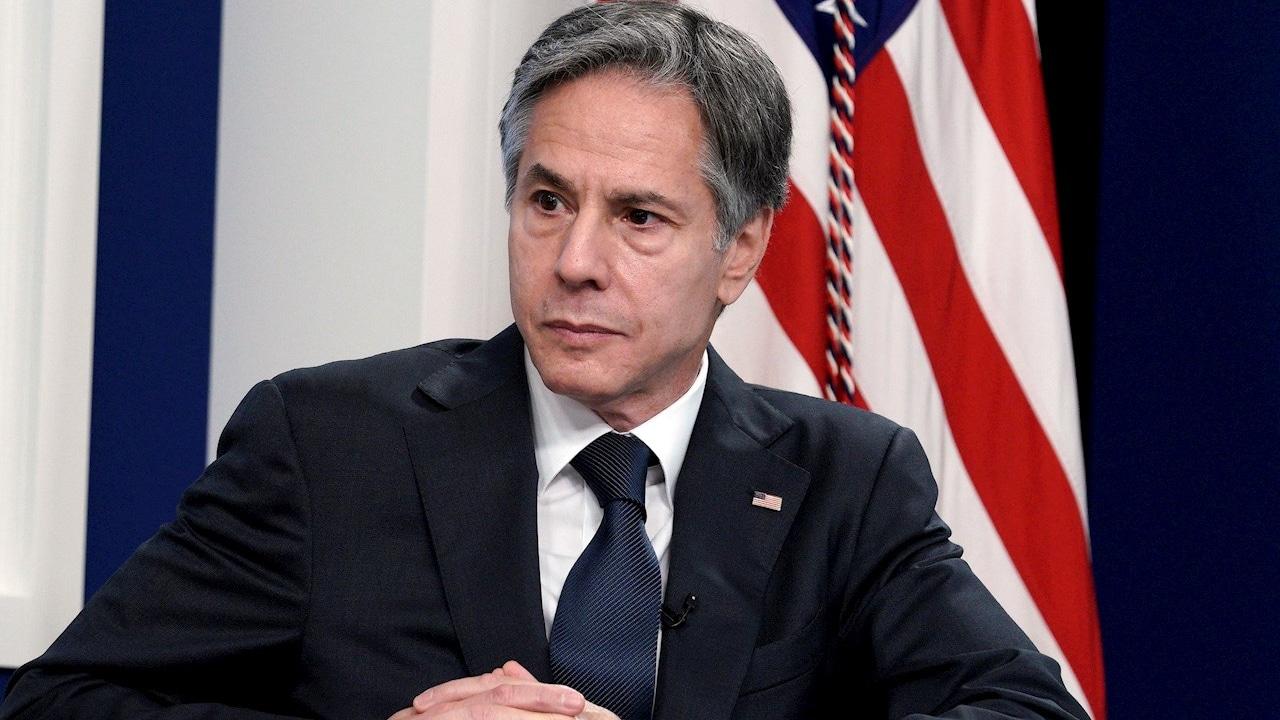Fotografía del secretario de Estado de Estados Unidos, Antony Blinken