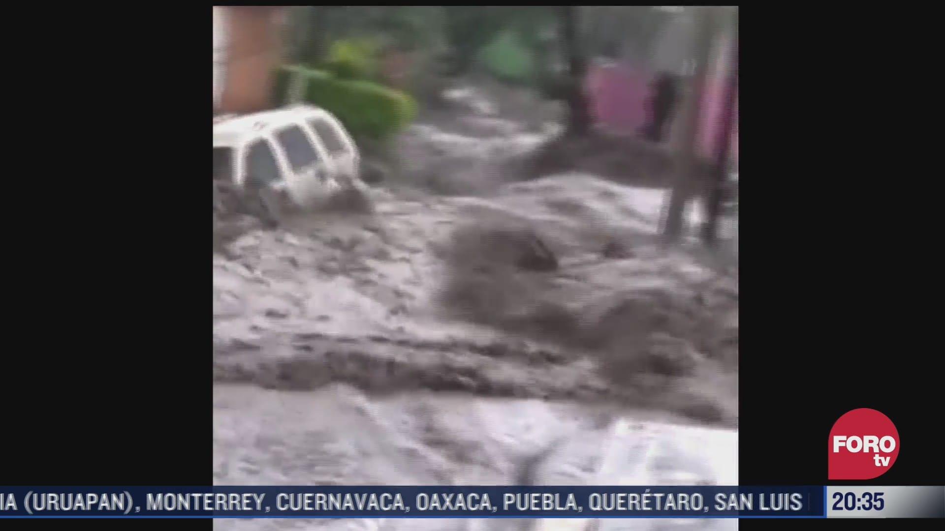 apoyan a familias afectadas por inundaciones en ecatepec