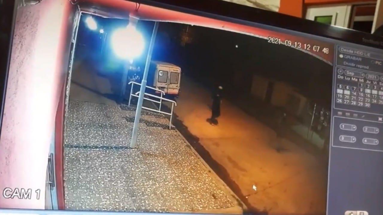 asalto, Argentina, vigilancia, video, captura de pantalla