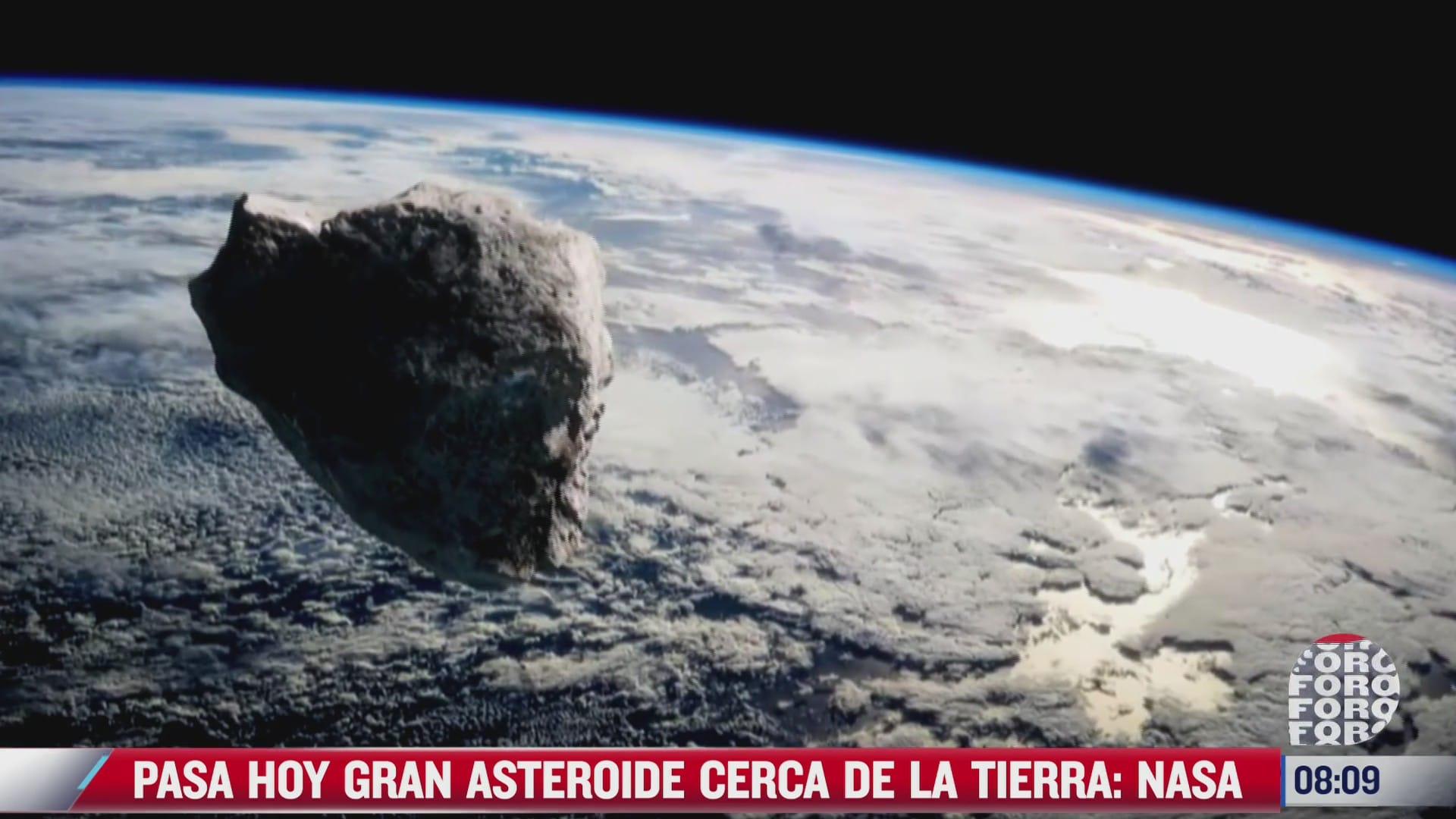 asteroide 2021 ny1 pasara cerca de la tierra