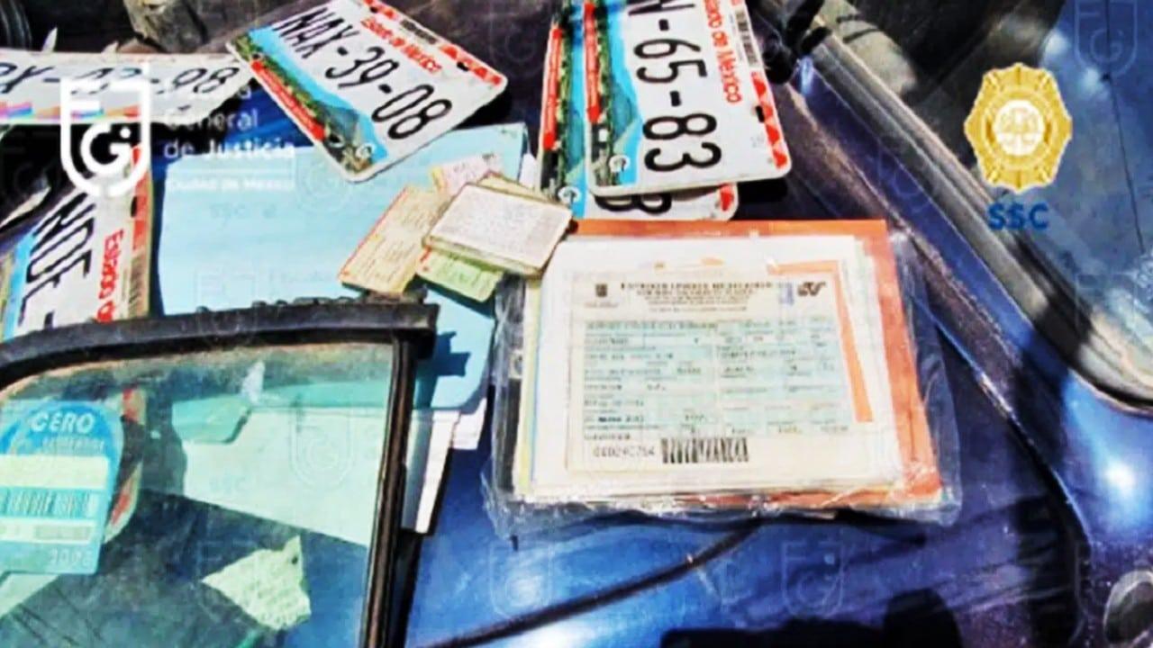 FGJ y SSC aseguran 15 toneladas de autopartes y detienen a 4 personas en Iztapalapa