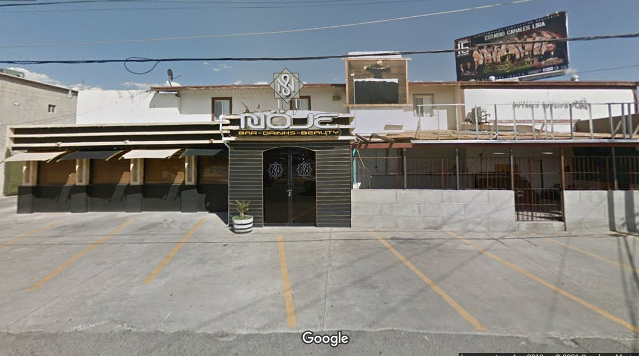 Ciudad Juárez, asesinato, mesera, homicidio, captura de pantalla, mapa