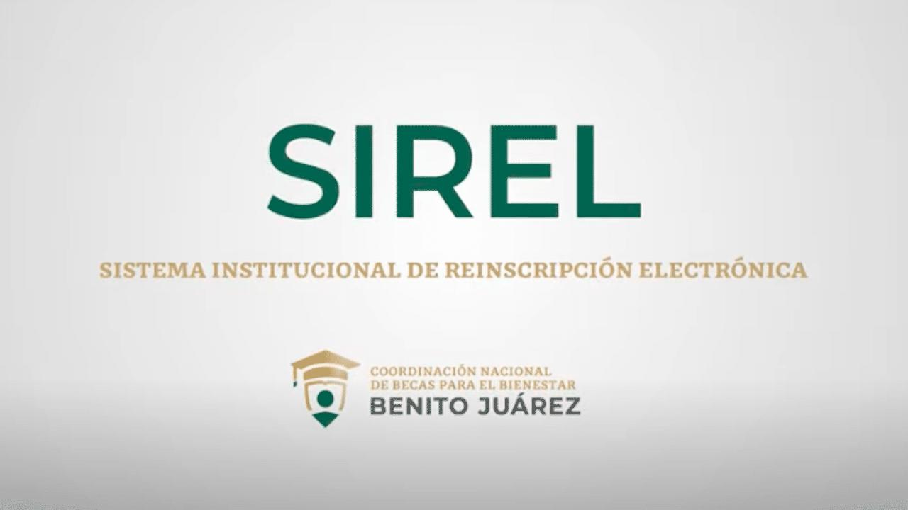 Beca Benito Juárez Sirel Registro