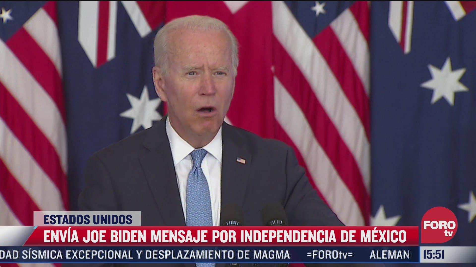biden felicita a mexico por aniversario de independencia