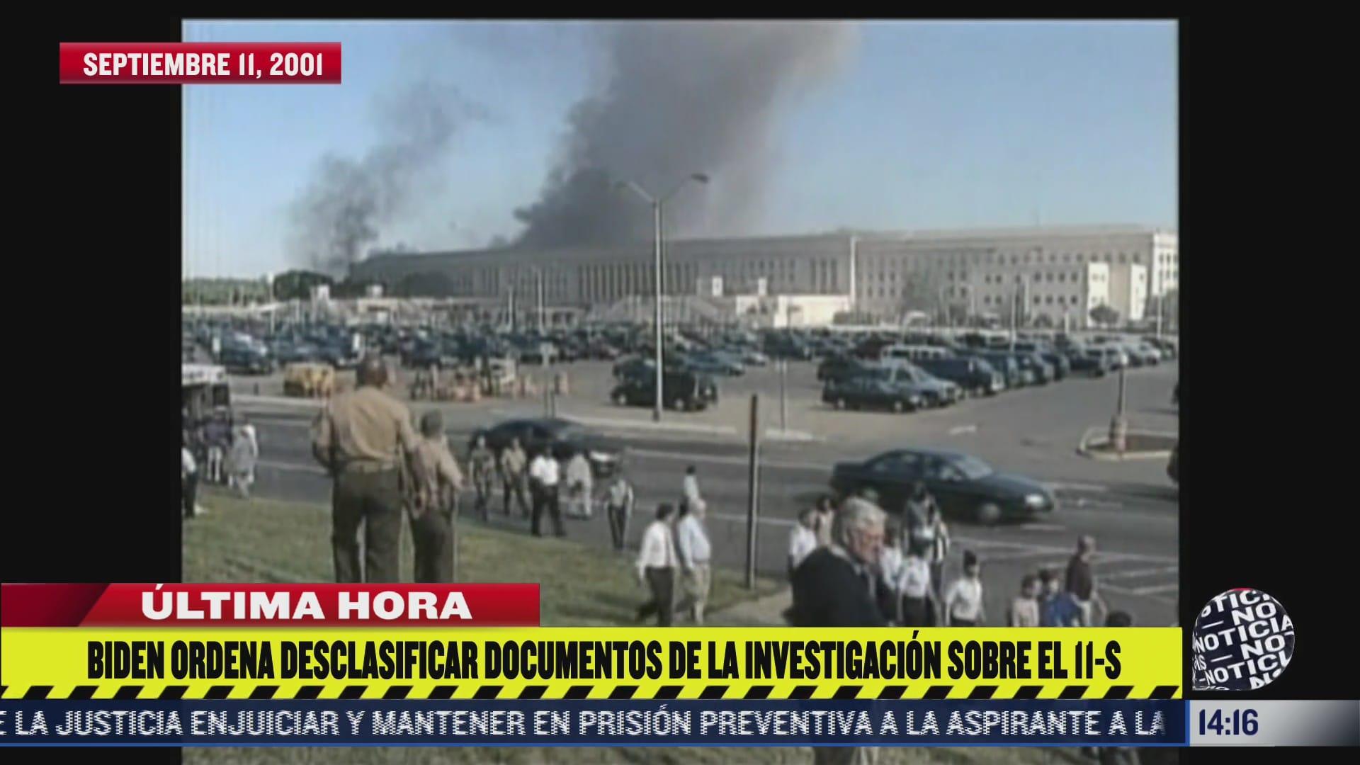 biden ordena desclasificar investigacion del fbi sobre los atentados terroristas de