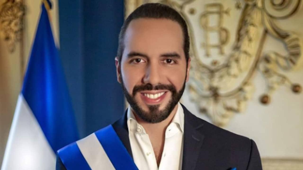 El presidente de El Salvador, Nayib Bukele (Twitter: @jinete728384748)