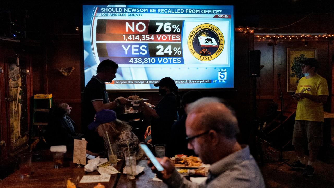 California vota en contra de destituir al gobernador demócrata Gavin Newsom