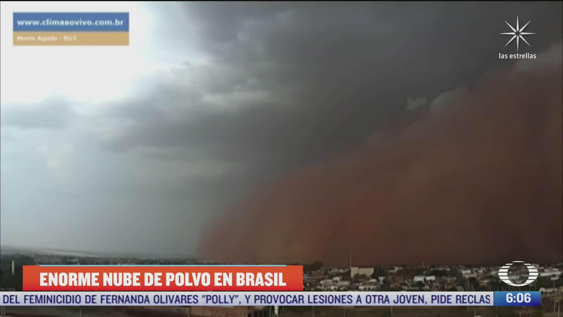 captan en video impresionante tormenta de polvo