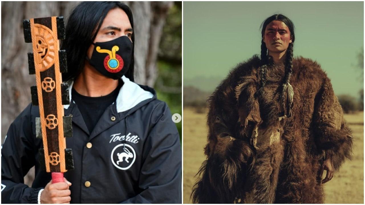 Haatepah Clearbear, indígena, modelaje, chichimeca, Instagram