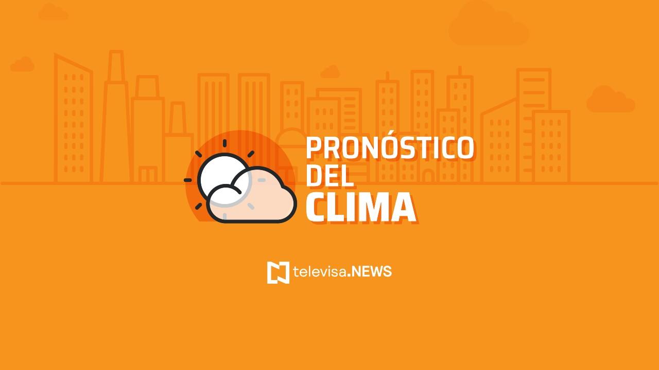 Clima hoy en México: Onda tropical 26 causará lluvias en occidente y sur del país