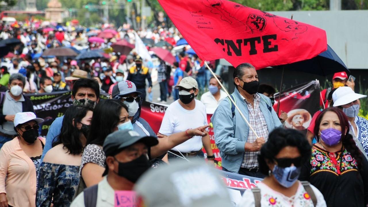 CNTE en Chiapas pide acceder a recursos de caja de ahorro, denuncian malos manejos