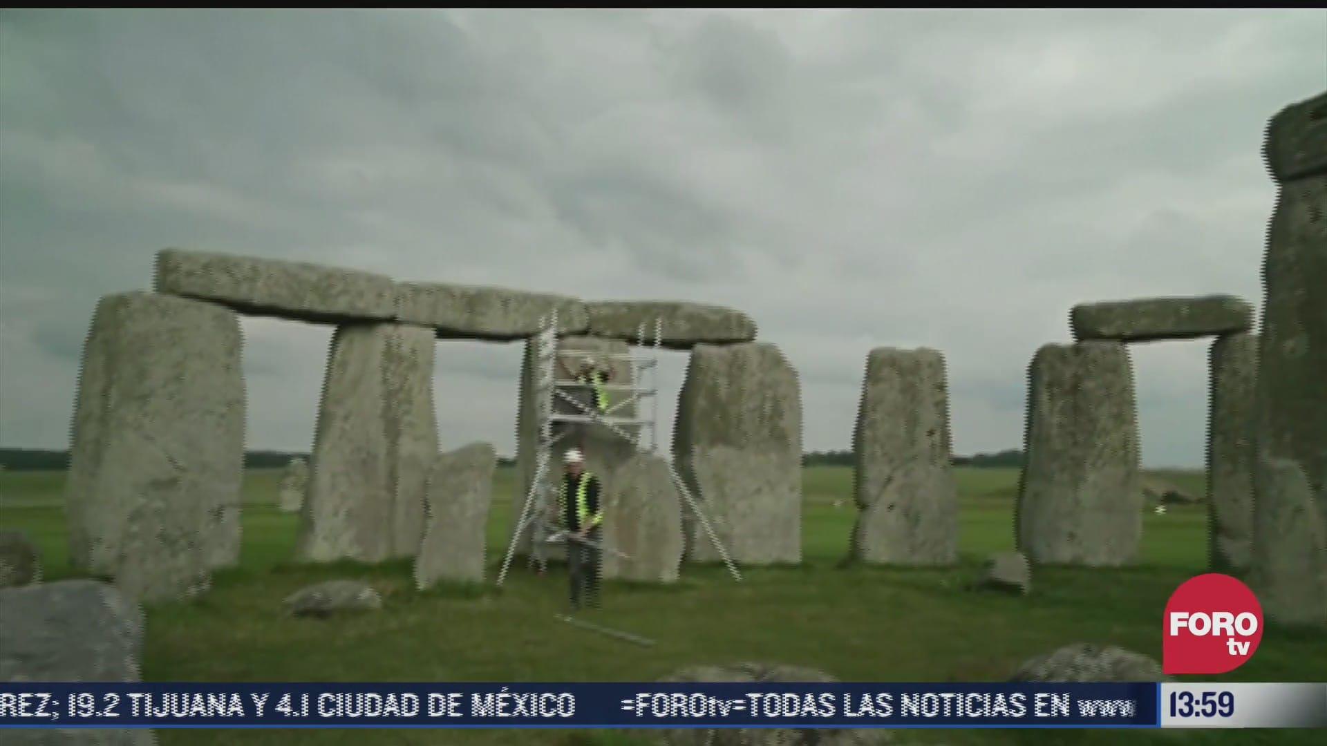 comienzan trabajos de remodelacion en el monumento stonehenge en reino unido