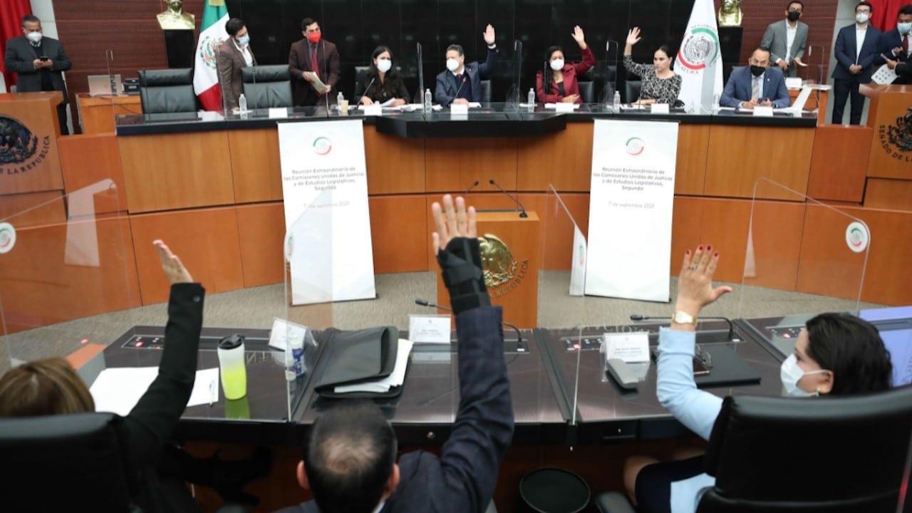 Comisiones unidas de Justicia y Estudios Legislativos Segunda analizaron la Ley Federal de Juicio Político y Declaración de Procedencia (Twitter: @senadomexicano)