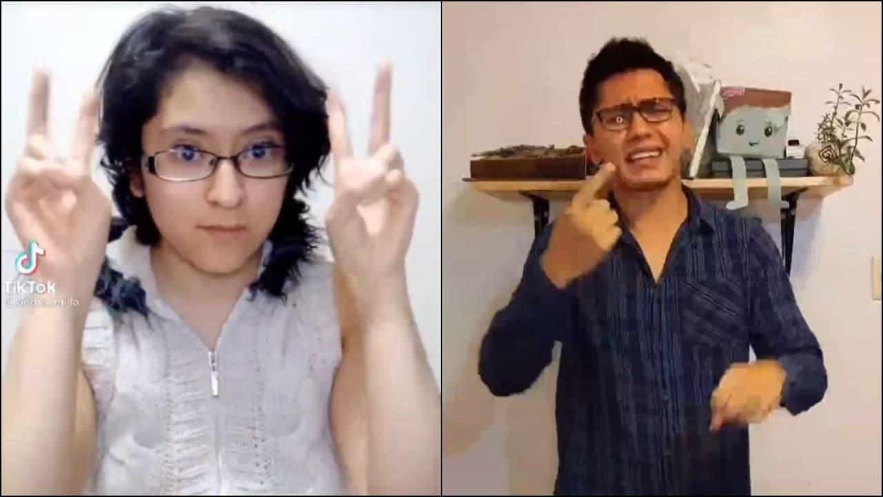 Compañere Andra recibe críticas por tratar de explicar lenguaje inclusivo con lengua de señas