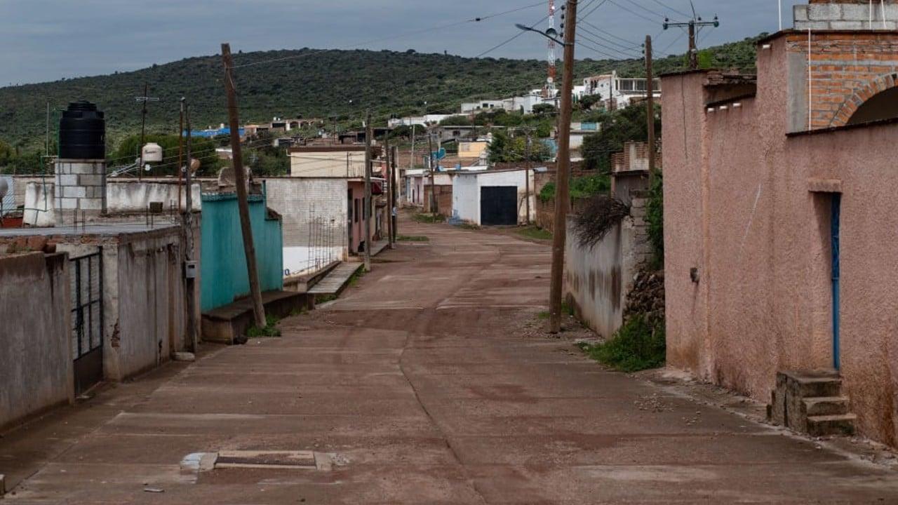 Comunidad en Jerez, en Zacatecas, luce como pueblo fantasma debido a la violencia