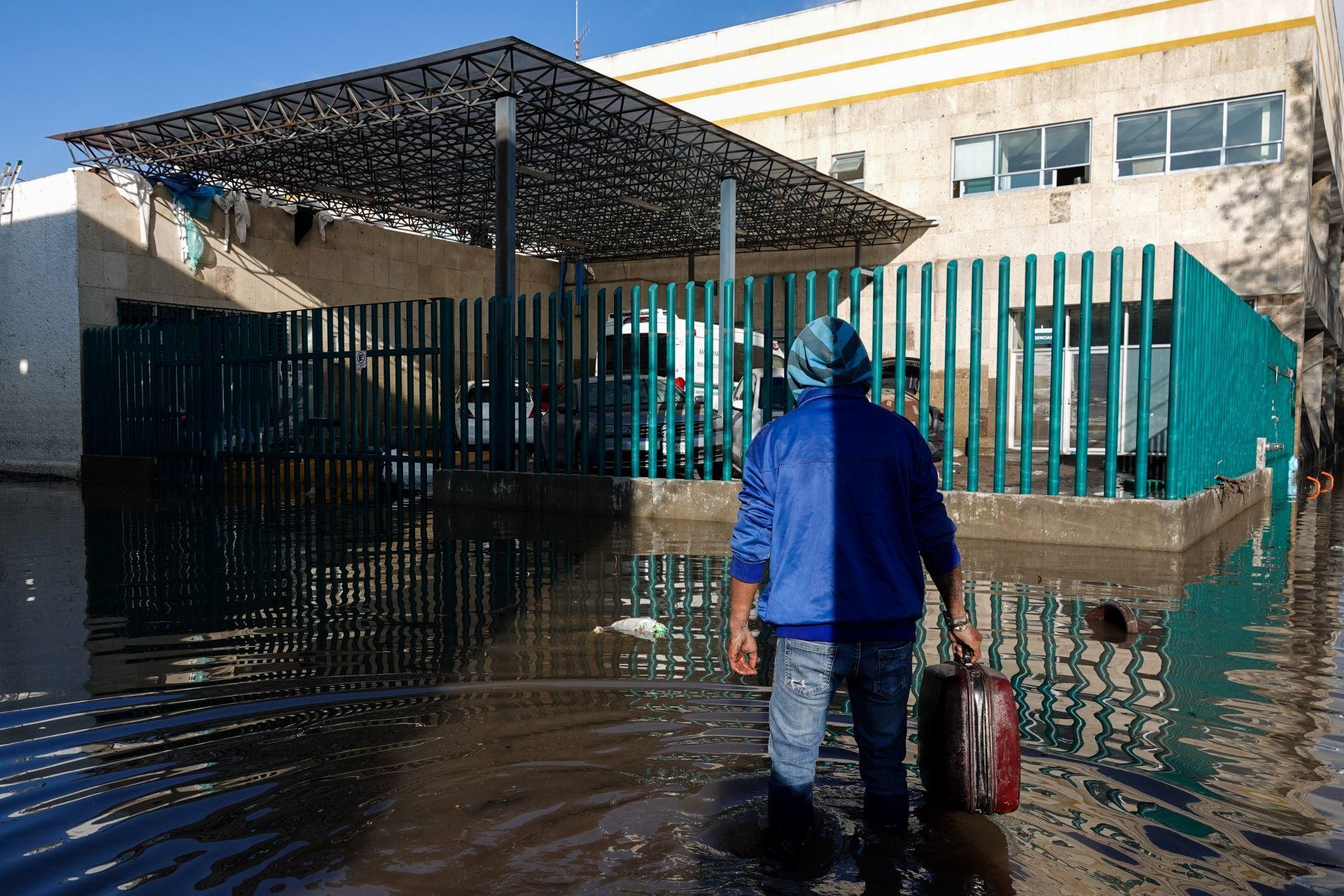 Conagua asegura que sí alertó a autoridades de Tula de desbordamiento del río
