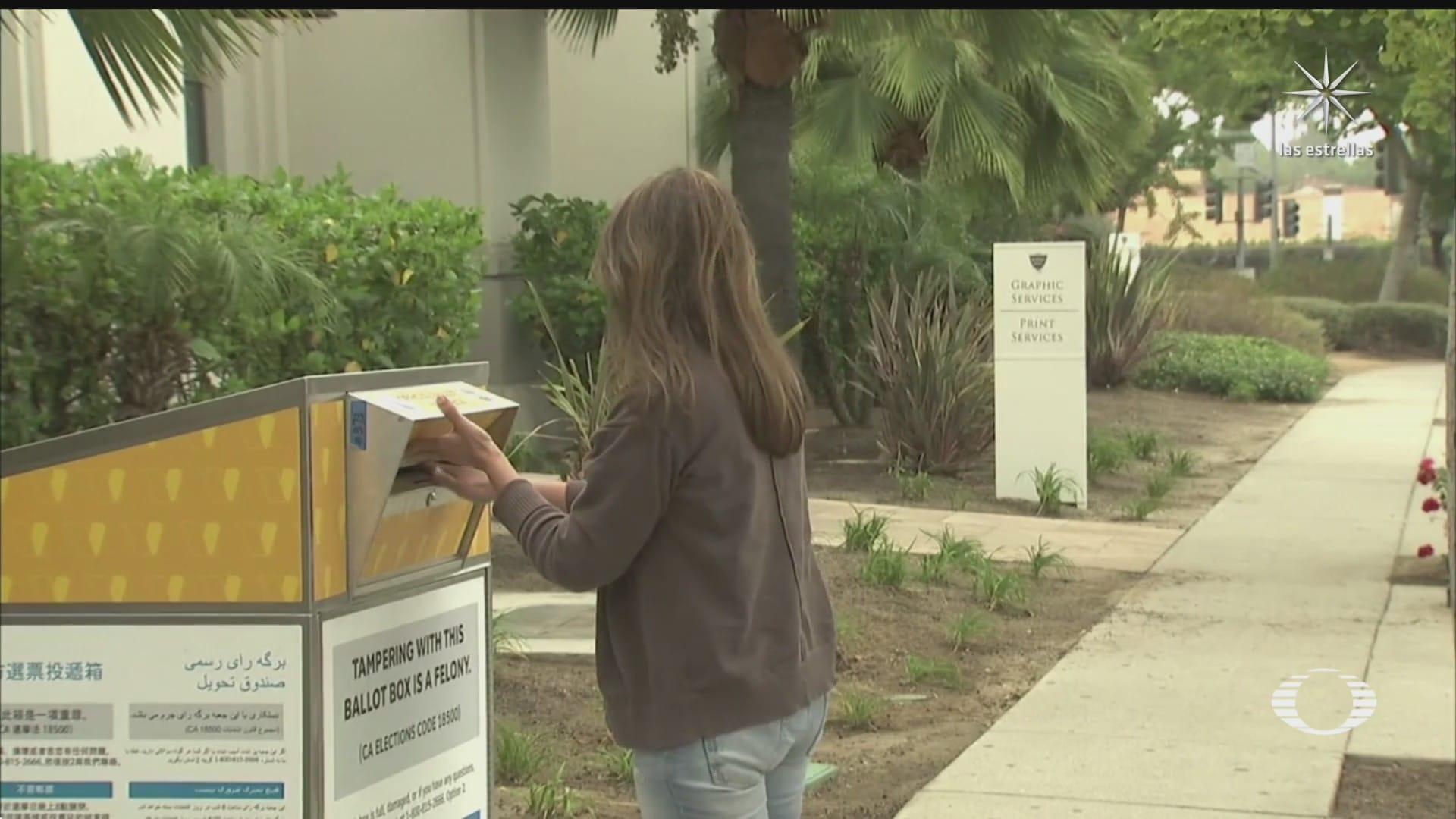 concluye eleccion revocatoria de mandato contra el gobernador de california