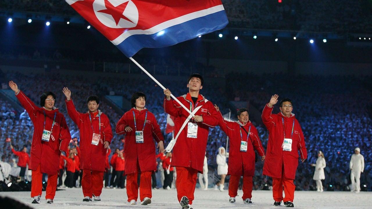Bandera nacional de Corea del Norte (Archivo, Getty Images)