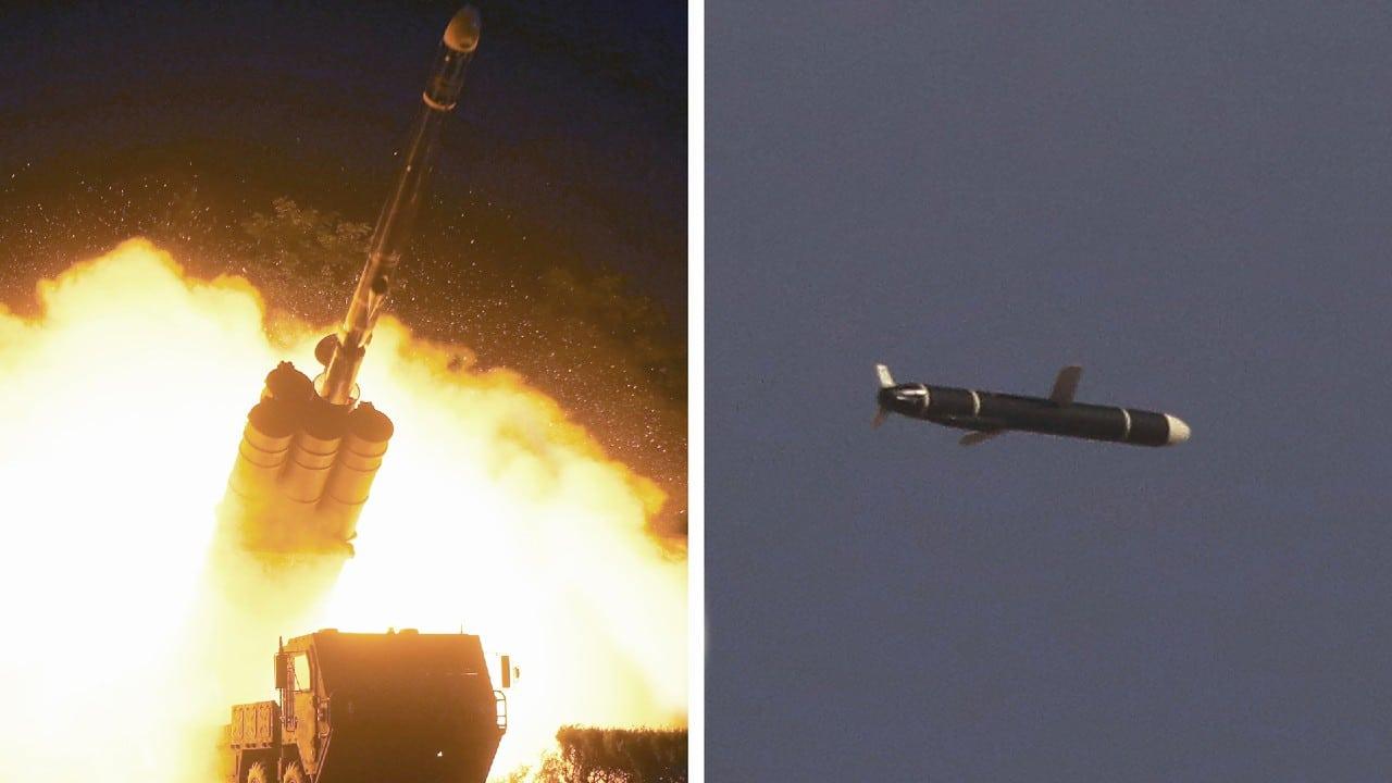 Corea del Norte lanza dos misiles balísticos hacia el mar de Japón