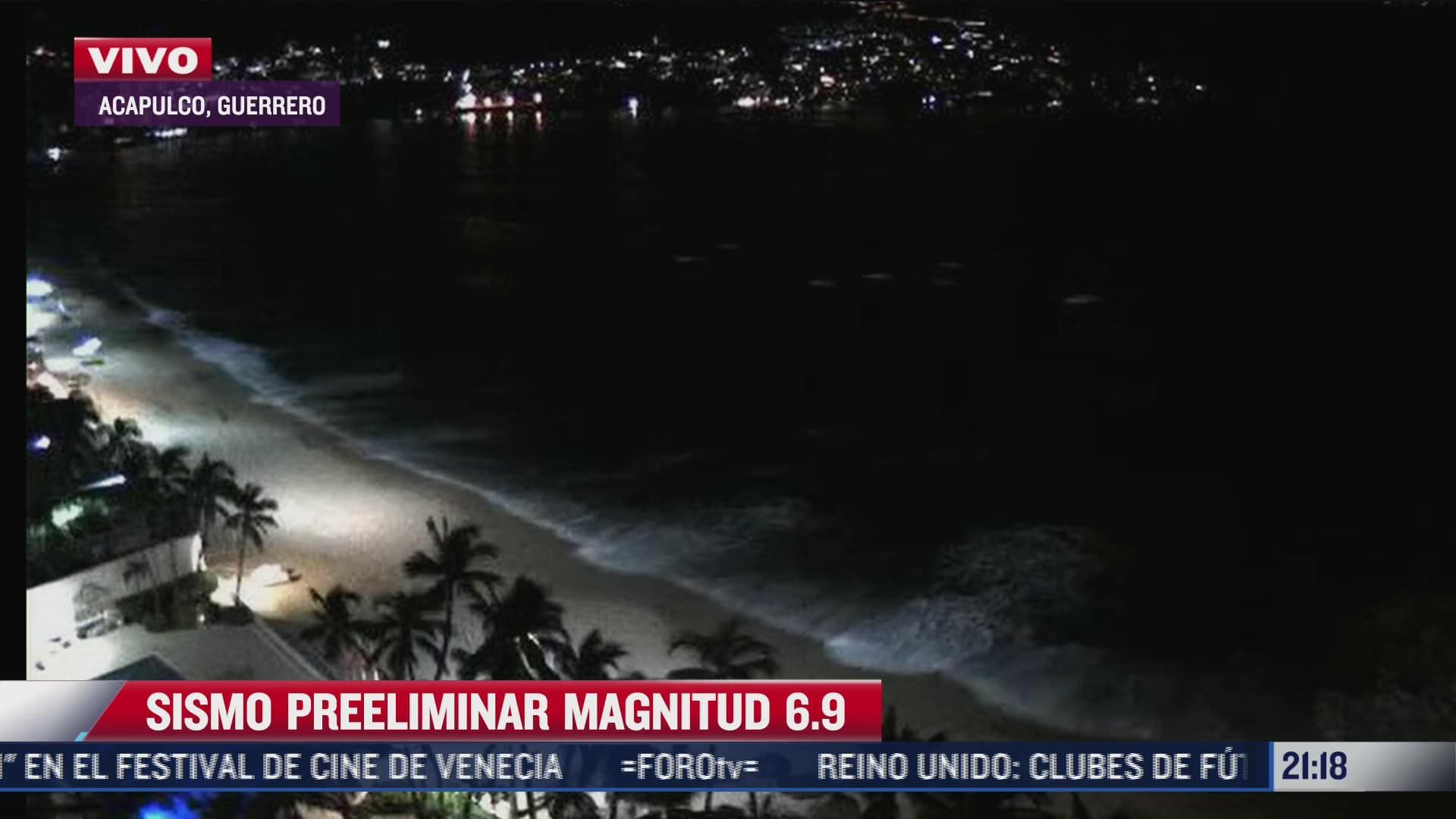 cortes de luz y telefonia en acapulco tras sismo de