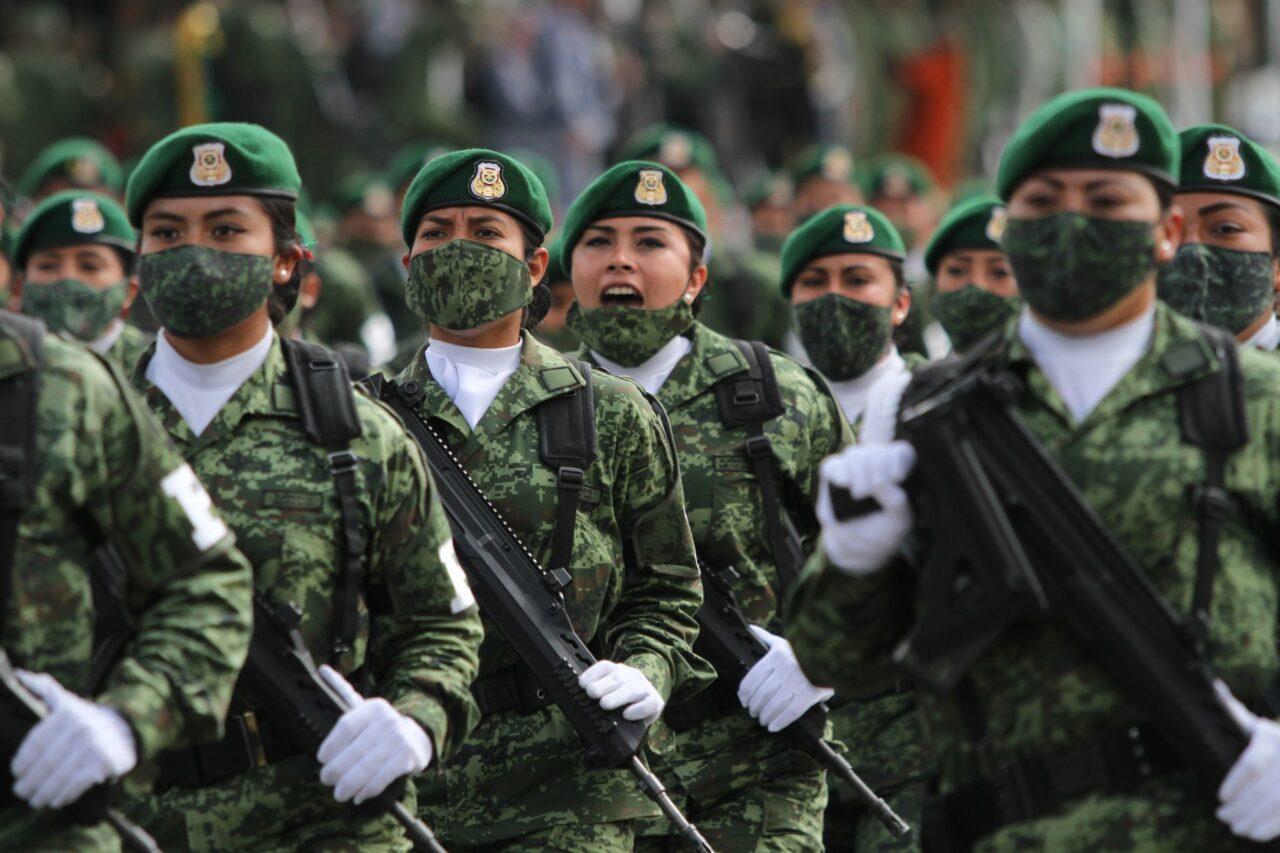 El desfile militar empezará en el Zócalo