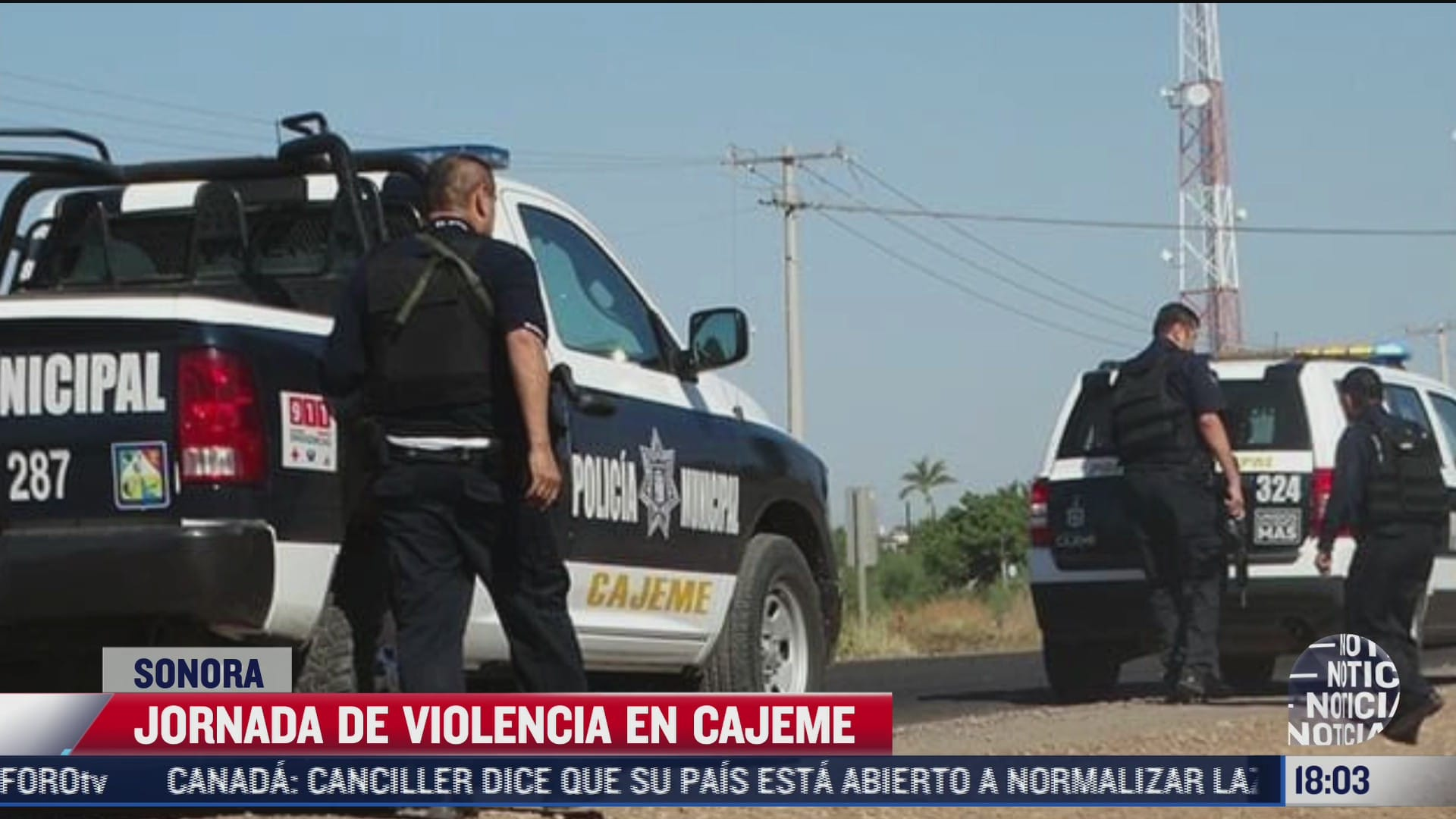 dejan hechos de violencia 7 muertos en cajeme sonora