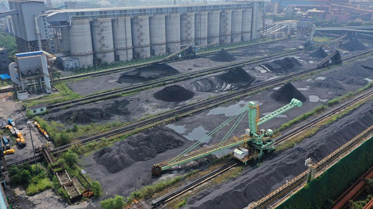 Depósito de carbón en China
