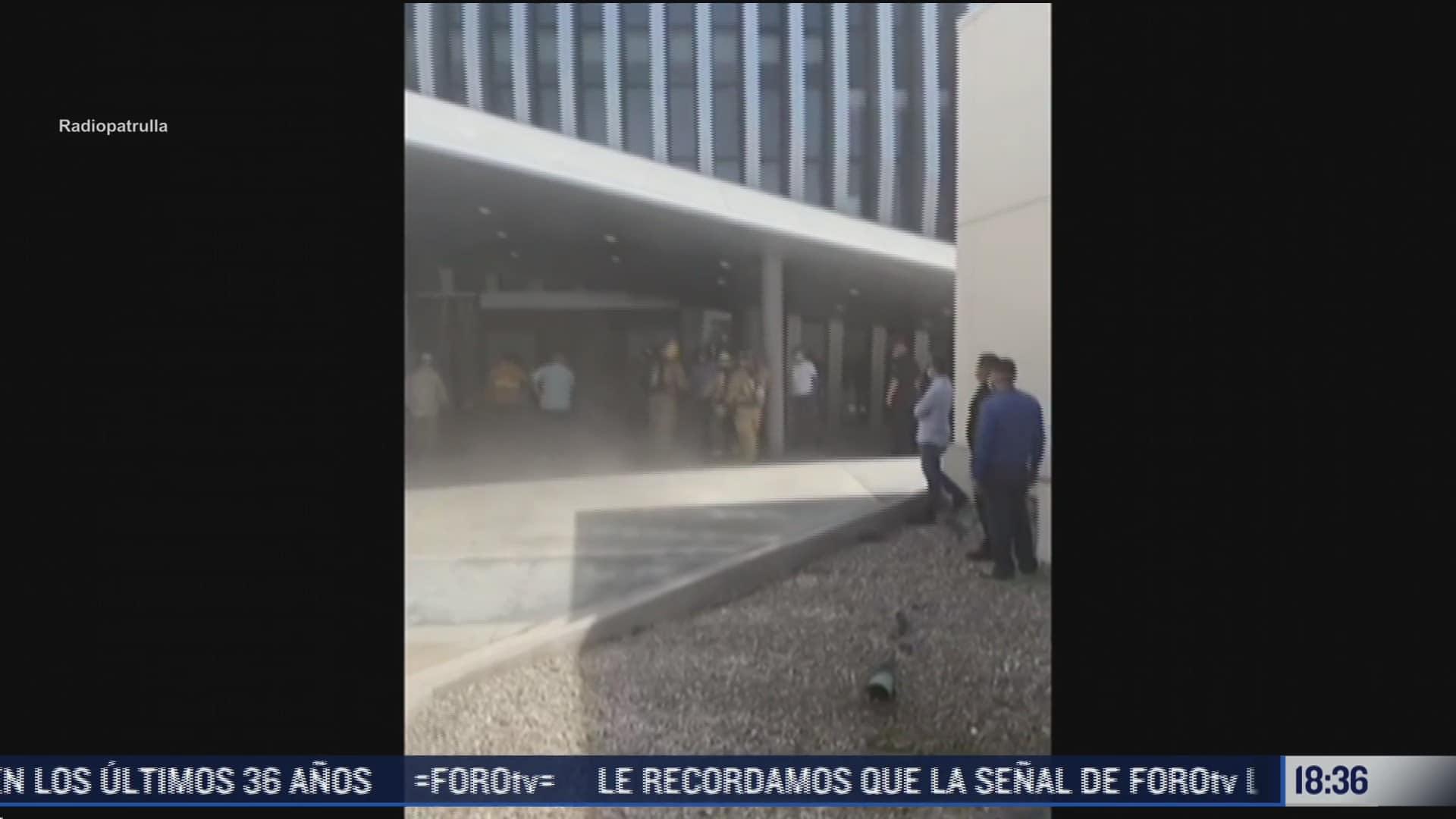 desalojan por incendio el hospital general de mexicali