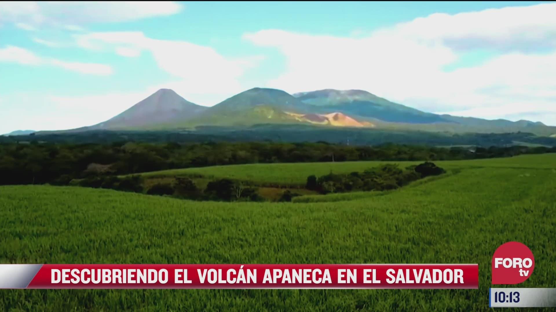 descubriendo el volcan apaneca en el salvador