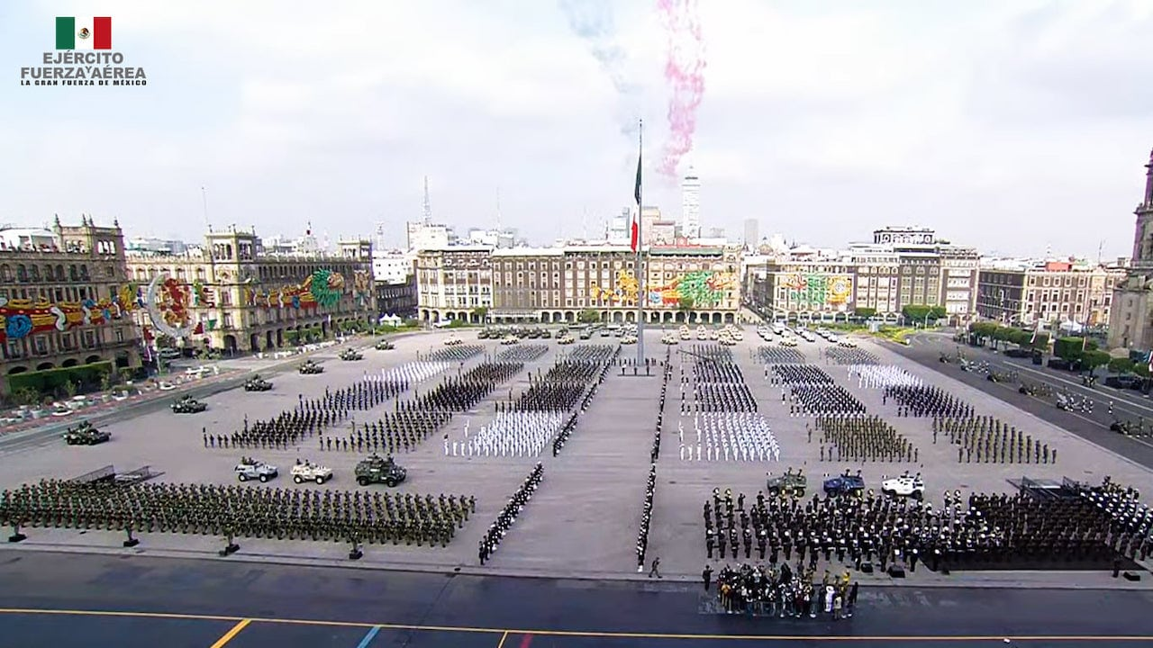 Desfile Militar 2021 fotos videos