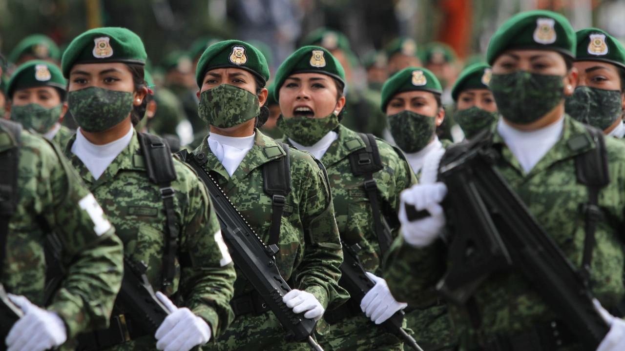Fuerzas Armadas se declaran listas para el desfile militar del 16 de septiembre