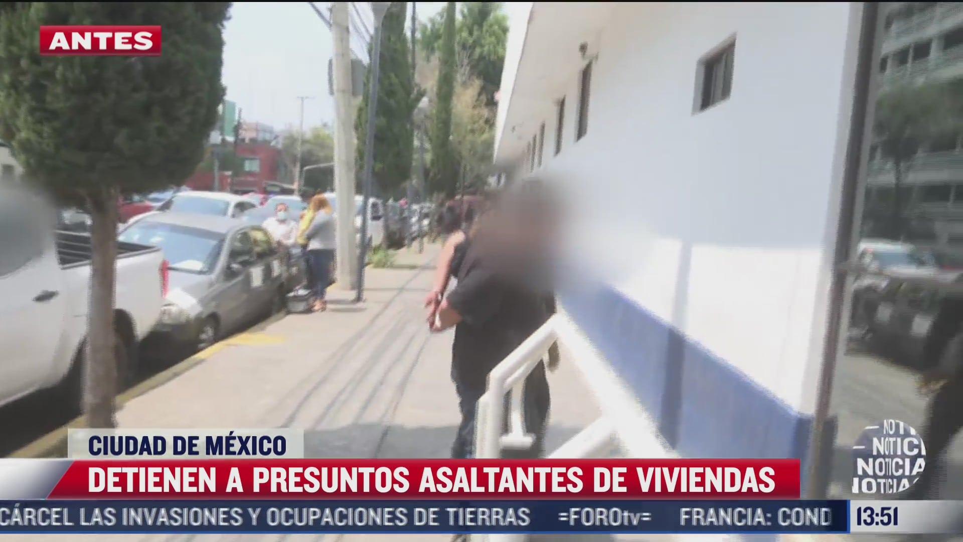 detienen a dos colombianos presuntos asaltantes de viviendas en iztapalapa cdmx