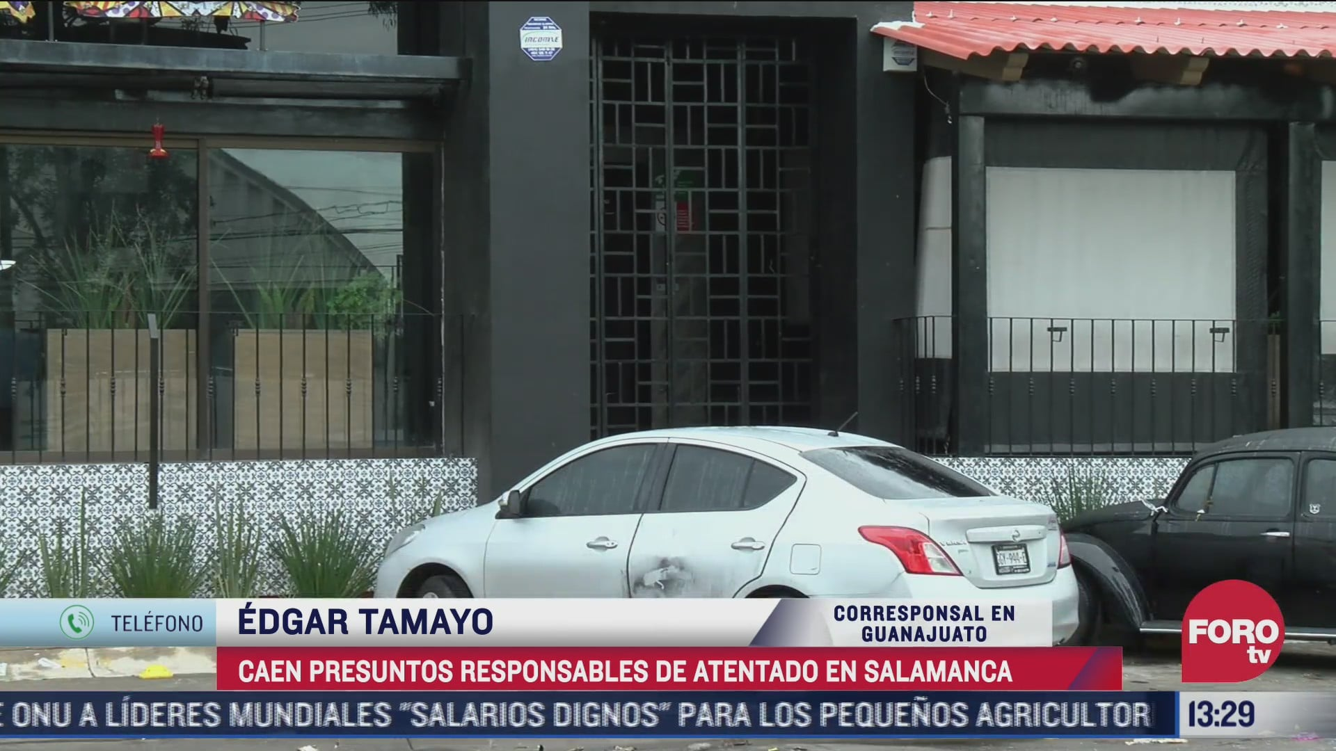 detienen autores materiales e intelectuales del ataque a restaurante en salamanca
