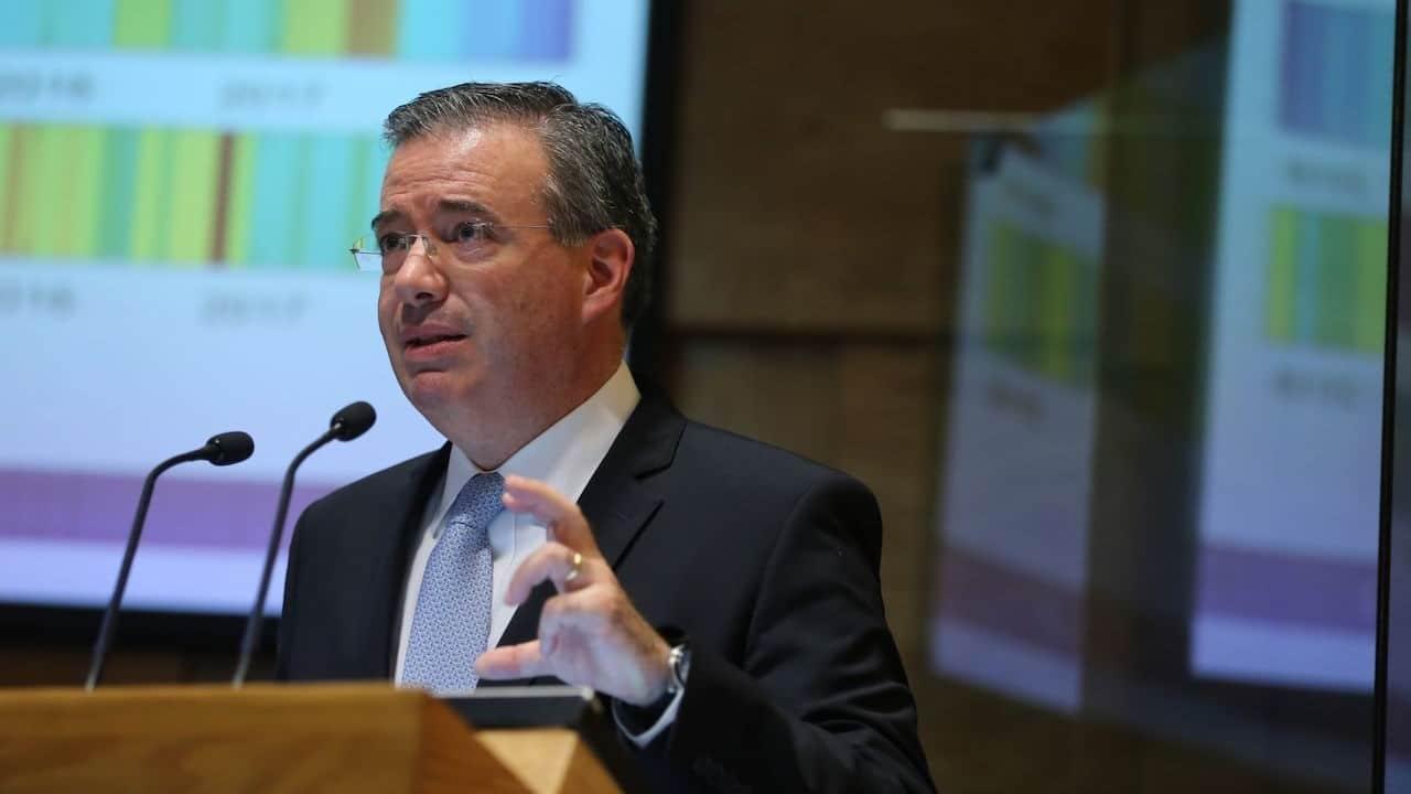 El Gobernador del Banco de México, Alejandro Díaz de Leó (Archvo, Cuartoscuro)