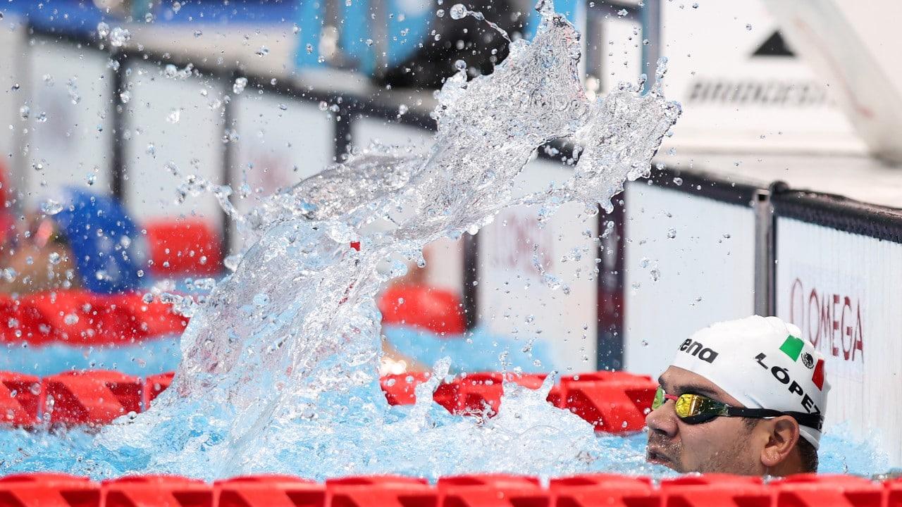 Diego López Díaz gana medalla de oro en natación en Paralímpicos de Tokyo 2020