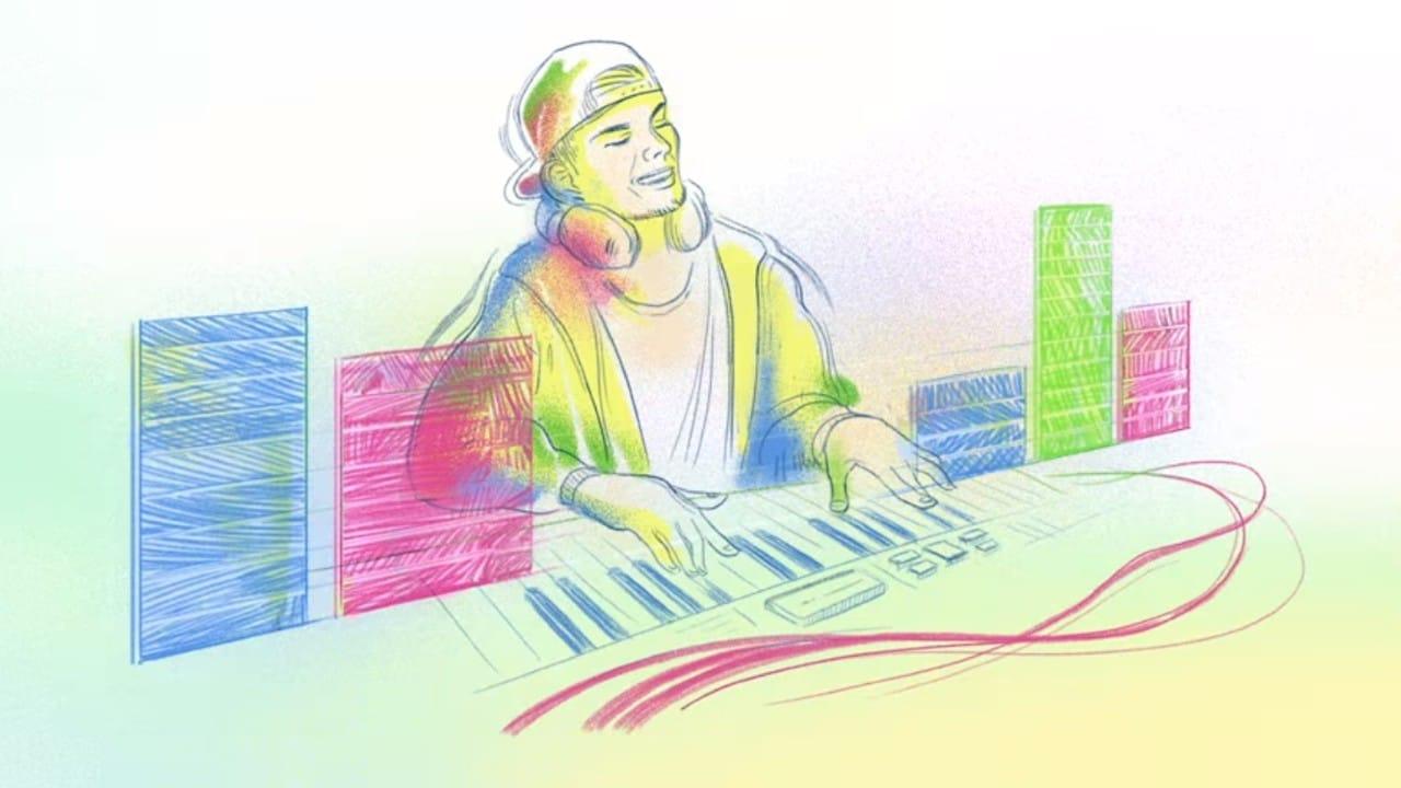 Google recuerda al DJ Avicii con emotivo Doodle por su cumpleaños