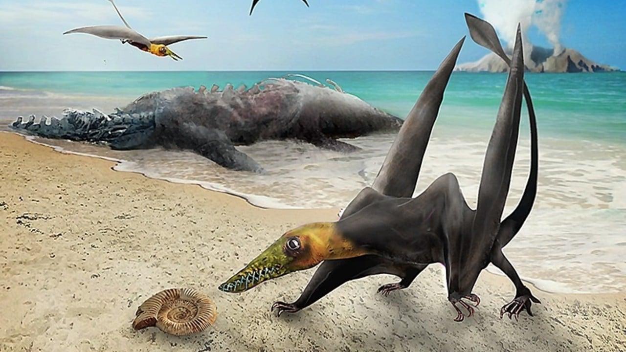 pterosaurio, dinosaurios, Chile, palentología, interpretación artística