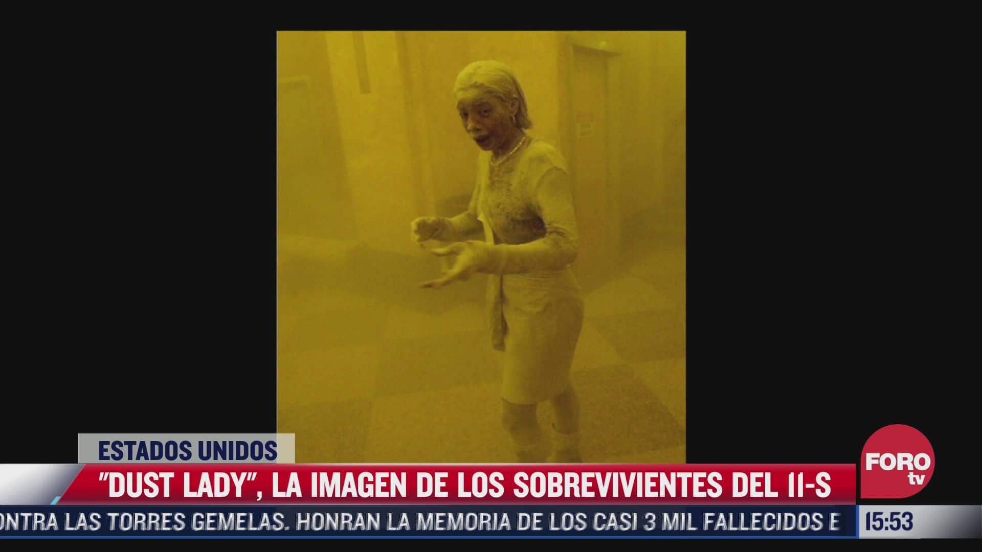 dust lady la imagen de los sobrevivientes del 11 s