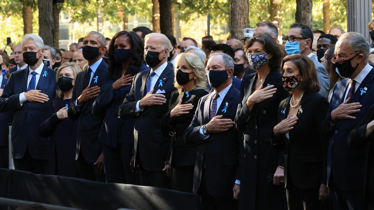 Así conmemoró EEUU el 20 aniversario de los atentados del 11-S