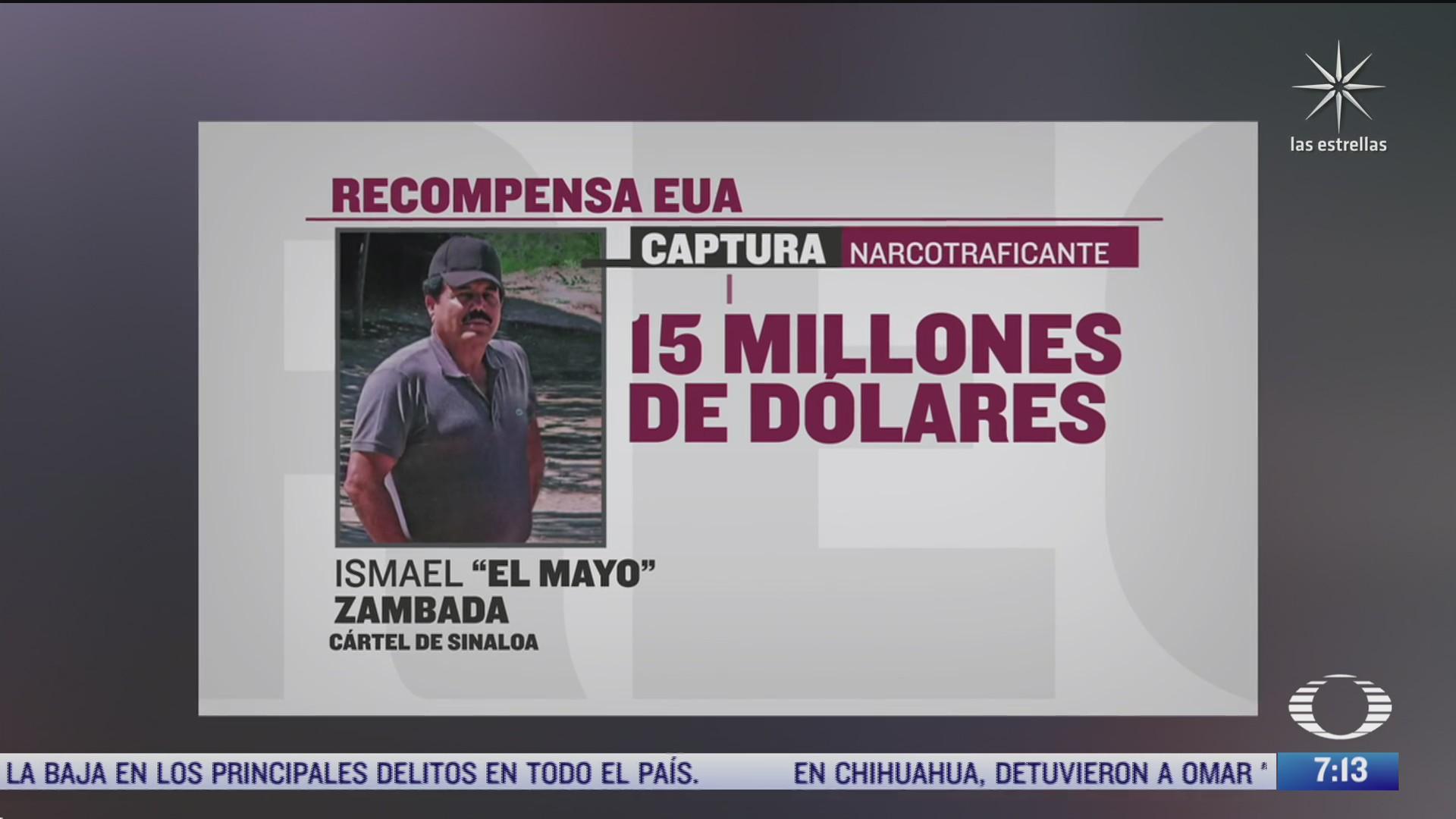 eeuu triplica recompensa por el mayo zambada ofrece 15 mdd