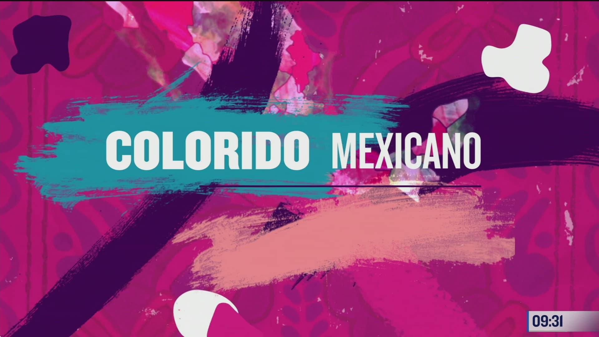 el abanico de color por la republica mexicana