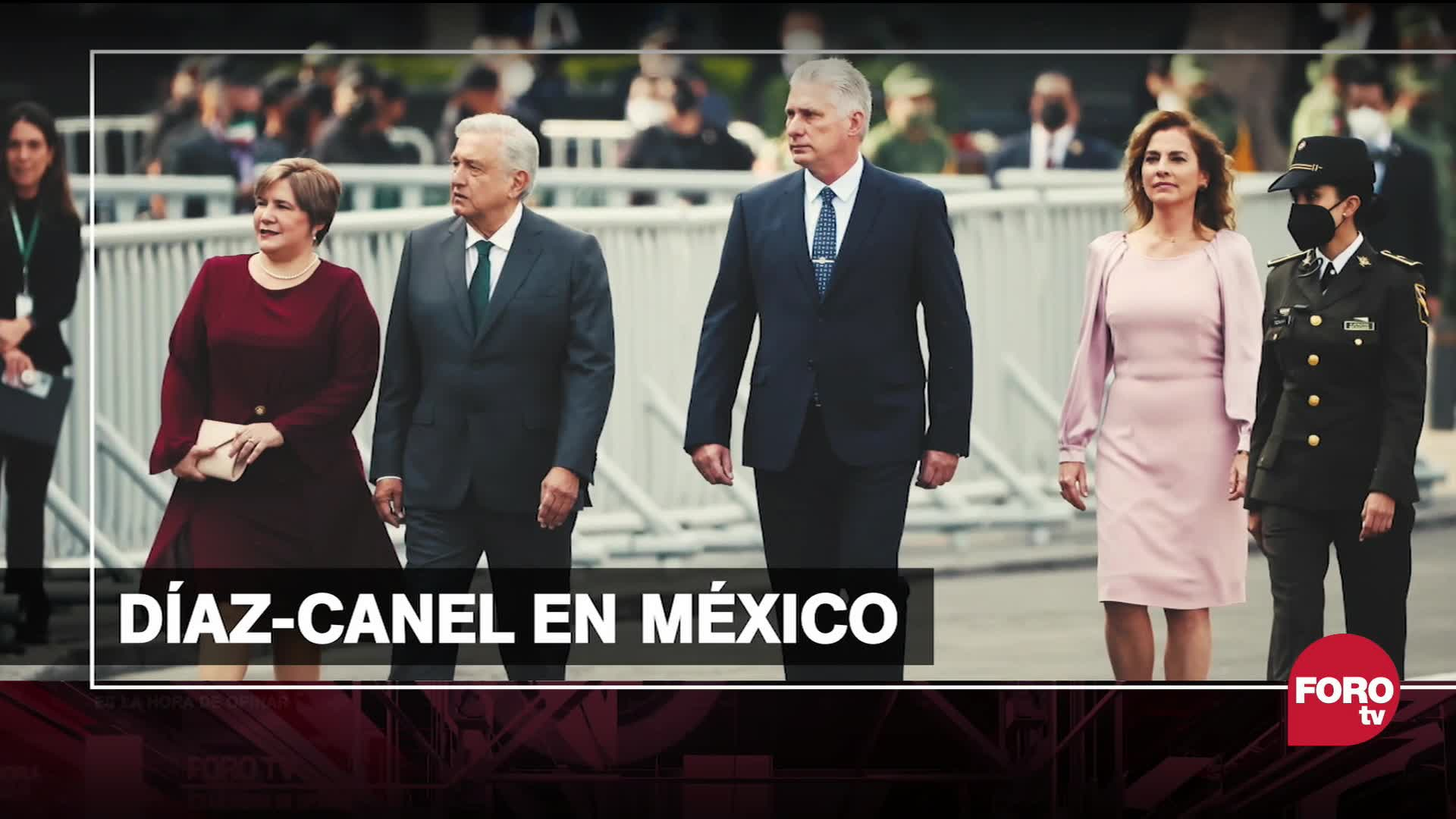 el mensaje que da mexico con la visita del presidente de cuba